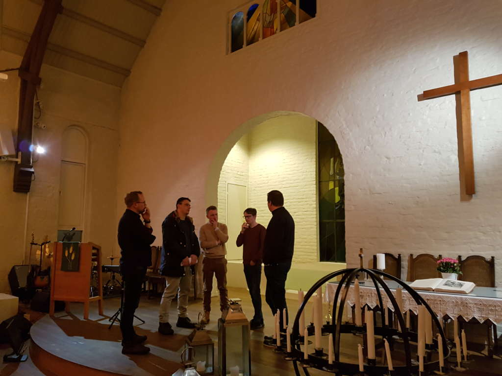 Omvisning i baptistkirken