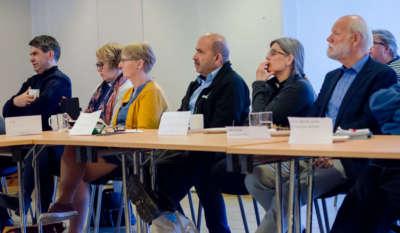 F.v. Martin Vestøl, Ida Etnestad, Gudrun Klingsheim, Ghulam Ehsas, Christine Hjellum, Arne Kittang.