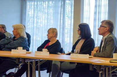 F.v. Anne Grete Spæren Rørvik, Ragnhild Stivi, Hilde Haraldseid og Reidar J. Kvinge