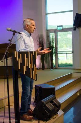 Lasse Stølen forteller om Adventkirken