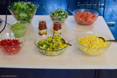 Adventister mener det er viktig å ta vare på kropp og helse, og serverte deilig vegetarmat.