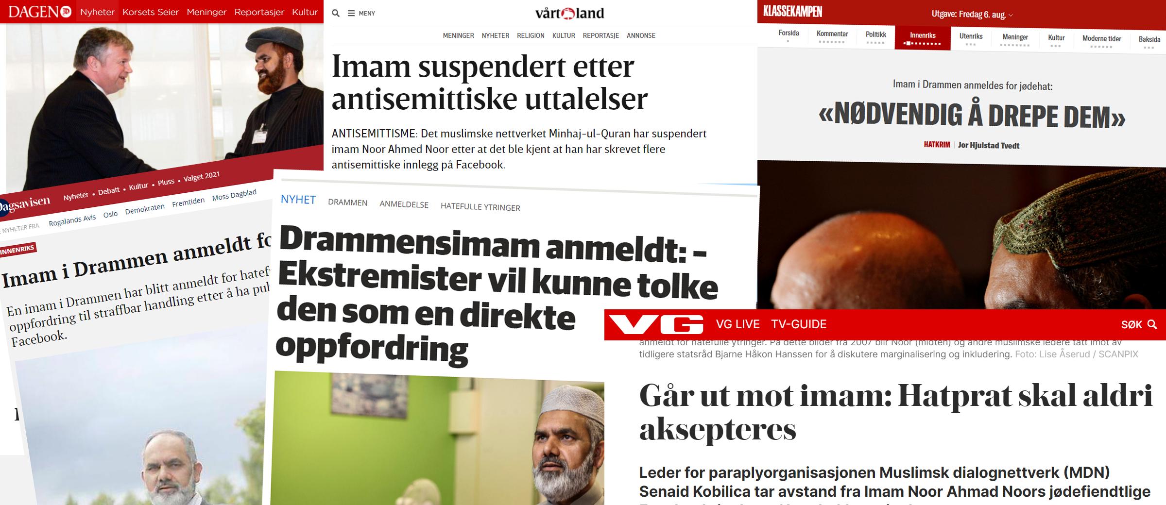 skjermdumper fra artikler
